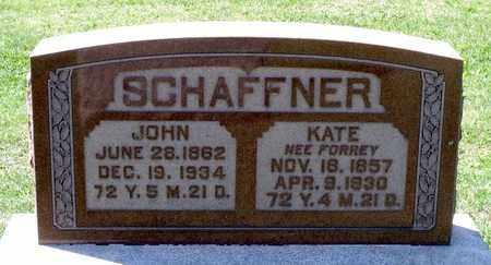 FORREY SCHAFFNER, KATE - Berks County, Pennsylvania | KATE FORREY SCHAFFNER - Pennsylvania Gravestone Photos