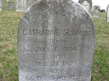 SCHMIDT, CATHARINE - Berks County, Pennsylvania   CATHARINE SCHMIDT - Pennsylvania Gravestone Photos