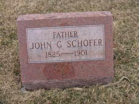 SCHOFER, JOHN G. - Berks County, Pennsylvania | JOHN G. SCHOFER - Pennsylvania Gravestone Photos