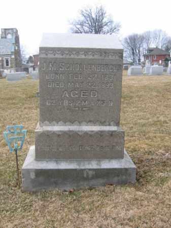 SCHOLLENBERGER (CW), CAPT.JONAS M. - Berks County, Pennsylvania   CAPT.JONAS M. SCHOLLENBERGER (CW) - Pennsylvania Gravestone Photos