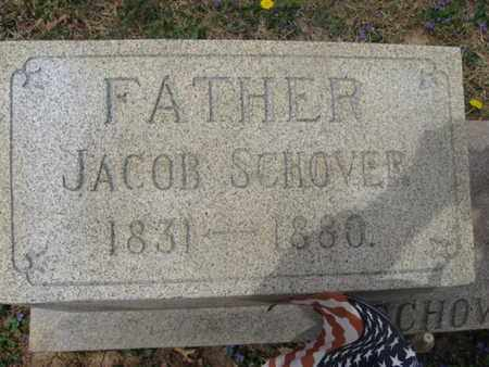 SCHOVER (CW), JACOB - Berks County, Pennsylvania | JACOB SCHOVER (CW) - Pennsylvania Gravestone Photos