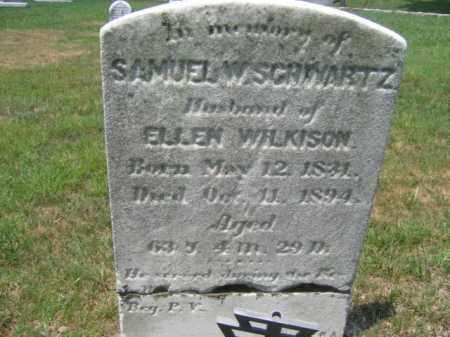 SCHWARTZ  (CW), SAMUEL W. - Berks County, Pennsylvania | SAMUEL W. SCHWARTZ  (CW) - Pennsylvania Gravestone Photos