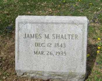 SHALTER, JAMES M. - Berks County, Pennsylvania | JAMES M. SHALTER - Pennsylvania Gravestone Photos