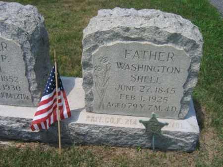 SHELL (CW), WASHINGON - Berks County, Pennsylvania | WASHINGON SHELL (CW) - Pennsylvania Gravestone Photos