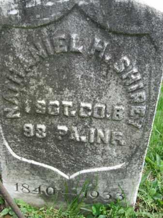 SHIREY (CW), SGT. NATHANIEL H. - Berks County, Pennsylvania   SGT. NATHANIEL H. SHIREY (CW) - Pennsylvania Gravestone Photos