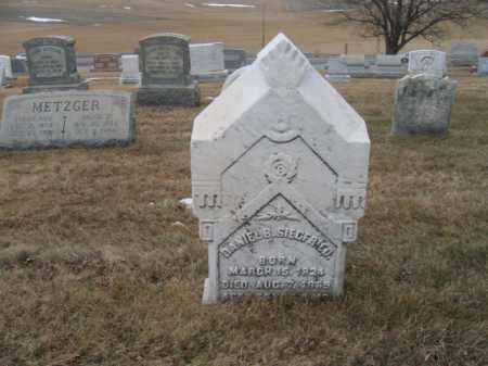SIEGFRIED, DANIEL B. - Berks County, Pennsylvania | DANIEL B. SIEGFRIED - Pennsylvania Gravestone Photos