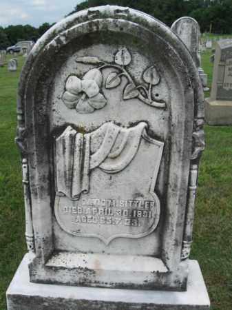 SITTLER, DAVID M. - Berks County, Pennsylvania   DAVID M. SITTLER - Pennsylvania Gravestone Photos