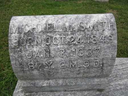 SMITH, MICHAAEL M. - Berks County, Pennsylvania   MICHAAEL M. SMITH - Pennsylvania Gravestone Photos