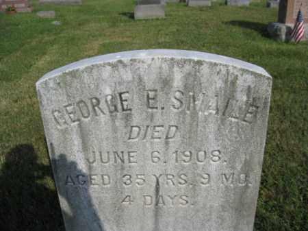 SNAILE, GEORGE E. - Berks County, Pennsylvania | GEORGE E. SNAILE - Pennsylvania Gravestone Photos