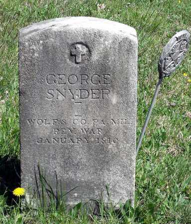 SNYDER, GEORGE - Berks County, Pennsylvania | GEORGE SNYDER - Pennsylvania Gravestone Photos