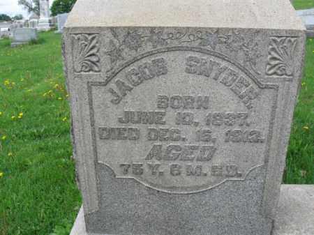 SNYDER, JACOB - Berks County, Pennsylvania | JACOB SNYDER - Pennsylvania Gravestone Photos