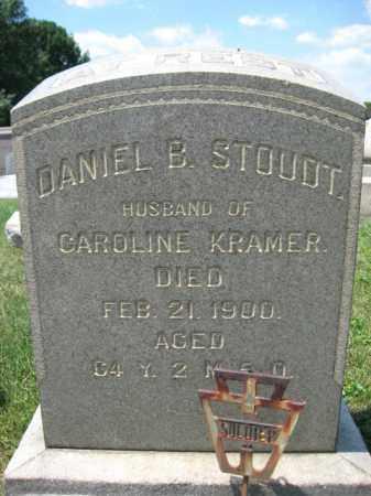 STOUDT  (CW), DANIEL - Berks County, Pennsylvania | DANIEL STOUDT  (CW) - Pennsylvania Gravestone Photos