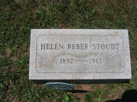REBER STOUDT, HELEN - Berks County, Pennsylvania | HELEN REBER STOUDT - Pennsylvania Gravestone Photos