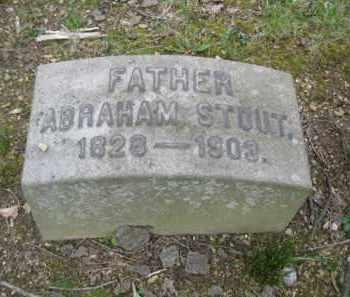 STOUT, ABRAHAM - Berks County, Pennsylvania | ABRAHAM STOUT - Pennsylvania Gravestone Photos