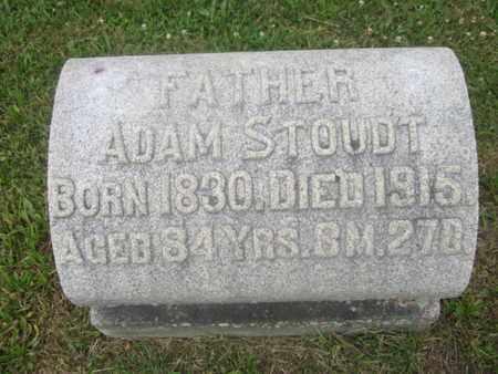 STOUT, ADAM - Berks County, Pennsylvania | ADAM STOUT - Pennsylvania Gravestone Photos