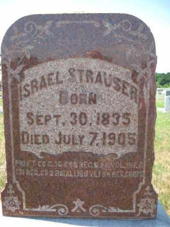 STRAUSER (STRASSER) (CW), PVT.ISRAEL - Berks County, Pennsylvania | PVT.ISRAEL STRAUSER (STRASSER) (CW) - Pennsylvania Gravestone Photos