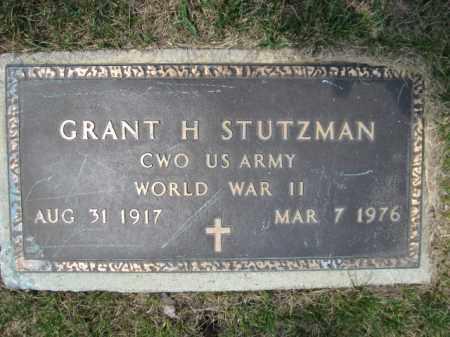 STUTZMAN, GRANT H. - Berks County, Pennsylvania | GRANT H. STUTZMAN - Pennsylvania Gravestone Photos