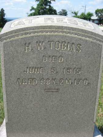 TOBIAS (CW), HENRY W. - Berks County, Pennsylvania | HENRY W. TOBIAS (CW) - Pennsylvania Gravestone Photos