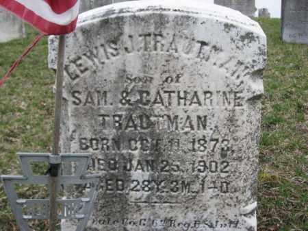 TRAUTMAN, LEWIS J. - Berks County, Pennsylvania   LEWIS J. TRAUTMAN - Pennsylvania Gravestone Photos
