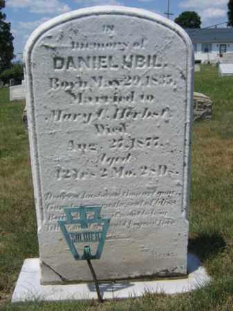 UBIL  (CW), PVT.DANIEL - Berks County, Pennsylvania | PVT.DANIEL UBIL  (CW) - Pennsylvania Gravestone Photos