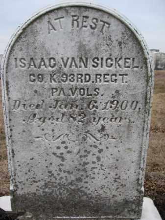 VANSICKEL  (CW), ISAAC - Berks County, Pennsylvania   ISAAC VANSICKEL  (CW) - Pennsylvania Gravestone Photos