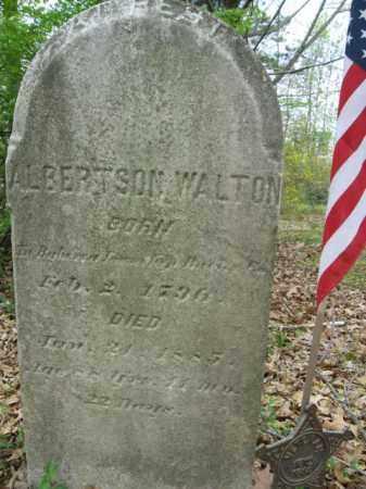 WALTON, ALBERTSON - Berks County, Pennsylvania | ALBERTSON WALTON - Pennsylvania Gravestone Photos