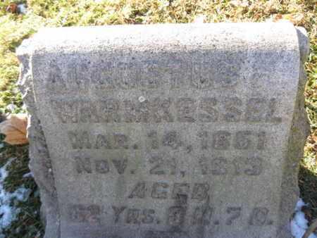 WARMKESSEL, AUGUSTUS - Berks County, Pennsylvania | AUGUSTUS WARMKESSEL - Pennsylvania Gravestone Photos