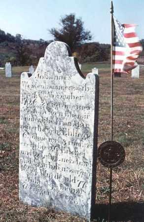 WEIDENHAMMER, JOHANNES - Berks County, Pennsylvania   JOHANNES WEIDENHAMMER - Pennsylvania Gravestone Photos
