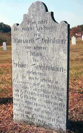 EBELING WEIDENHAMMER, MARGARETHA - Berks County, Pennsylvania | MARGARETHA EBELING WEIDENHAMMER - Pennsylvania Gravestone Photos