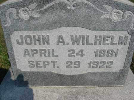 WILHELM, JOHN A. - Berks County, Pennsylvania | JOHN A. WILHELM - Pennsylvania Gravestone Photos