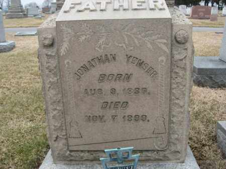 YENSER (CW), JONATHAN - Berks County, Pennsylvania | JONATHAN YENSER (CW) - Pennsylvania Gravestone Photos