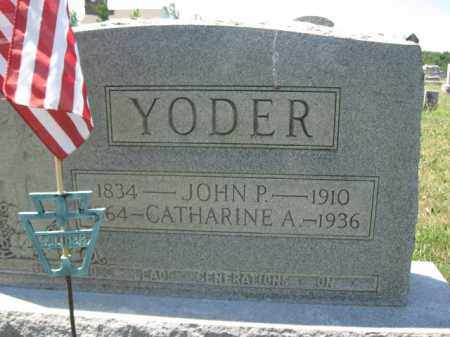 YODER, CATHERINE A. - Berks County, Pennsylvania | CATHERINE A. YODER - Pennsylvania Gravestone Photos