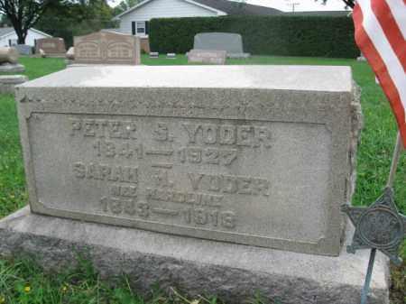 YODER (CW), PETER S. - Berks County, Pennsylvania | PETER S. YODER (CW) - Pennsylvania Gravestone Photos