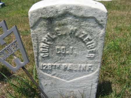ZEIBER  (CW), CORP.SAMUEL W. - Berks County, Pennsylvania | CORP.SAMUEL W. ZEIBER  (CW) - Pennsylvania Gravestone Photos