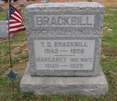 CHISHOLM BRACKBILL, MARGARET - Blair County, Pennsylvania | MARGARET CHISHOLM BRACKBILL - Pennsylvania Gravestone Photos