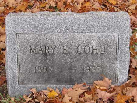 COHO, MARY E - Blair County, Pennsylvania   MARY E COHO - Pennsylvania Gravestone Photos