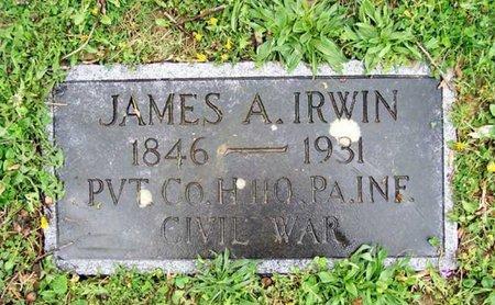 IRWIN, JAMES A. - Blair County, Pennsylvania   JAMES A. IRWIN - Pennsylvania Gravestone Photos