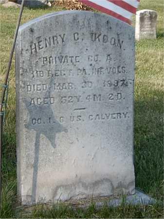 KOON (CW), HENRY - Blair County, Pennsylvania | HENRY KOON (CW) - Pennsylvania Gravestone Photos