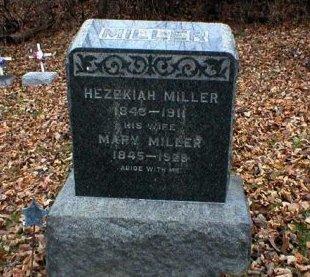 MILLER (CW), HEZEKIAH - Blair County, Pennsylvania | HEZEKIAH MILLER (CW) - Pennsylvania Gravestone Photos