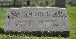 ANDRUS, JAMES H - Bradford County, Pennsylvania   JAMES H ANDRUS - Pennsylvania Gravestone Photos