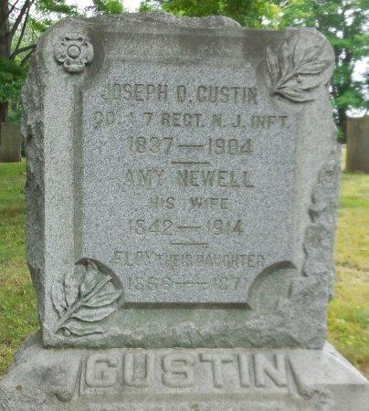 GUSTIN (CW), JOSEPH O. - Bradford County, Pennsylvania | JOSEPH O. GUSTIN (CW) - Pennsylvania Gravestone Photos