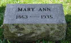 FREELOVE HOWLAND, MARY ANN - Bradford County, Pennsylvania | MARY ANN FREELOVE HOWLAND - Pennsylvania Gravestone Photos