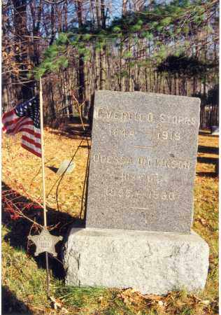 STORRS, EVERELL OWEN - Bradford County, Pennsylvania | EVERELL OWEN STORRS - Pennsylvania Gravestone Photos