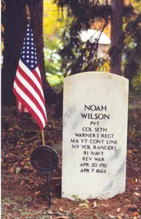 WILSON (RW), NOAH - Bradford County, Pennsylvania | NOAH WILSON (RW) - Pennsylvania Gravestone Photos