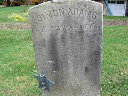 ADAMS, SIMON - Bucks County, Pennsylvania | SIMON ADAMS - Pennsylvania Gravestone Photos