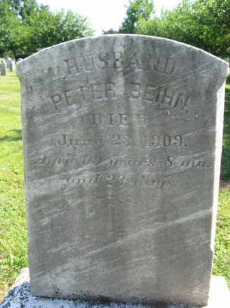 BEIHN (CW), PETER - Bucks County, Pennsylvania   PETER BEIHN (CW) - Pennsylvania Gravestone Photos
