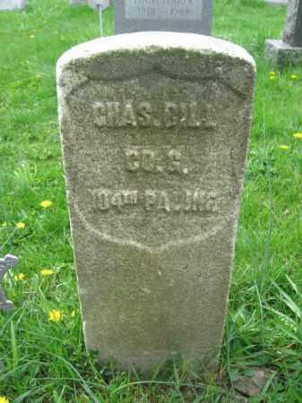 BILL (CW), CHARLES - Bucks County, Pennsylvania | CHARLES BILL (CW) - Pennsylvania Gravestone Photos