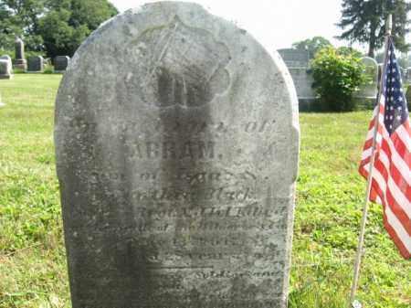 BLACK, ABRAM - Bucks County, Pennsylvania | ABRAM BLACK - Pennsylvania Gravestone Photos