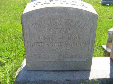 BLEAM, WILLIAM - Bucks County, Pennsylvania | WILLIAM BLEAM - Pennsylvania Gravestone Photos