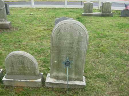 BRADFORD  (CW), SGT. THOMAS - Bucks County, Pennsylvania   SGT. THOMAS BRADFORD  (CW) - Pennsylvania Gravestone Photos